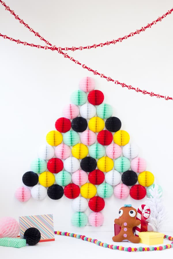 Honeycomb christmas tree