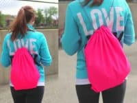 Neon gym bag 200x150 Workout Gear for the New Year: DIY Gym Bags