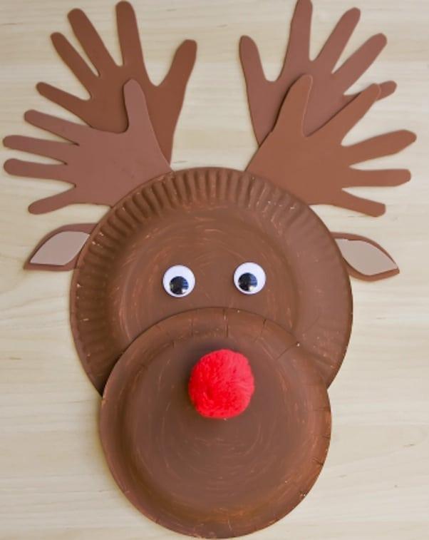 cute reindeer crafts for kids