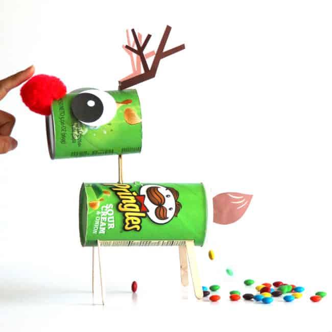 Pringles reindeer