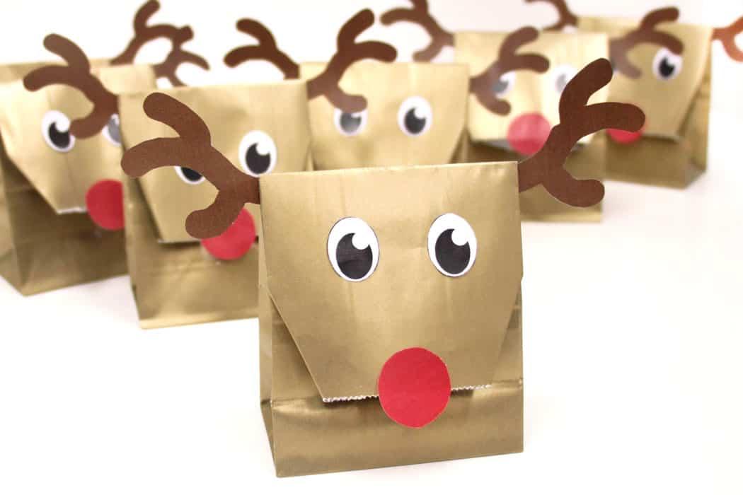 Reindeer Party Bags