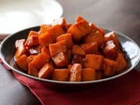 Roasted sweet potatoes with honey and cinnamon 200x150 14 Yummy Desserts for Cinnamon Enthusiasts