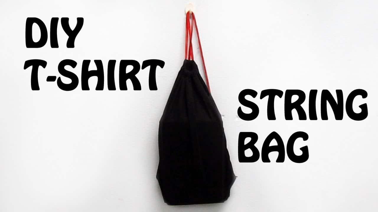 T-shirt gym bag