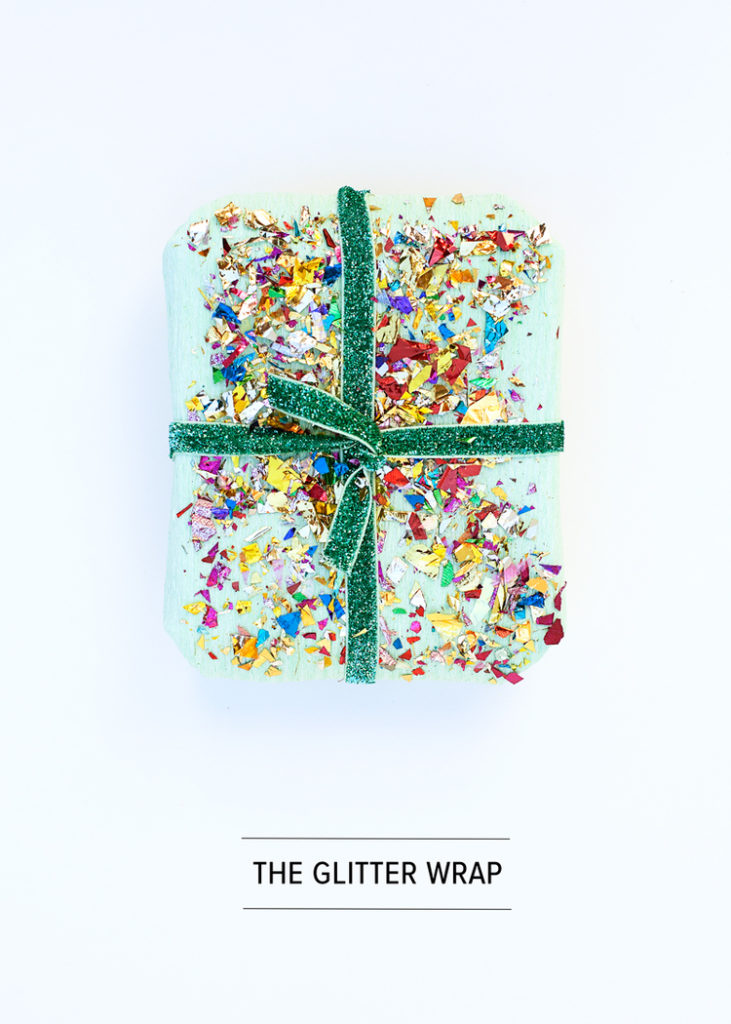 The glitter wrap