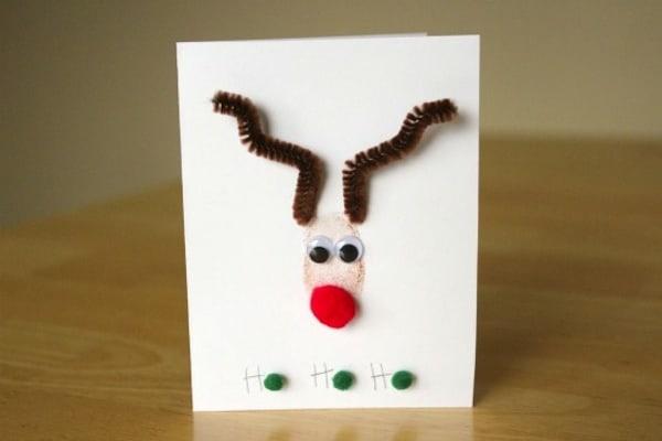 Thumb print Rudolph