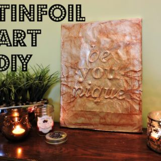 Silver Perfection: 10 Groovy Tin Foil Crafts