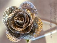 Tin foil rose 200x150 Silver Perfection: 10 Groovy Tin Foil Crafts