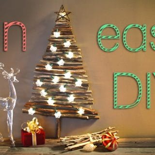 Santa Claus Is Coming To Town: Alternative DIY Christmas Trees