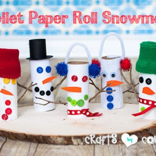 Holiday Season Delights: Snowman Themed Crafts for Kids