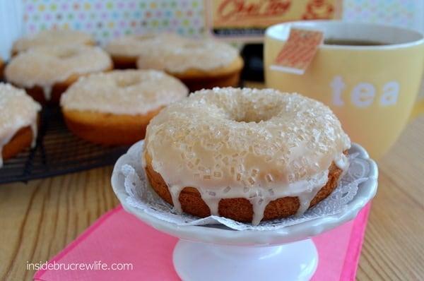 Vanilla Chai donuts