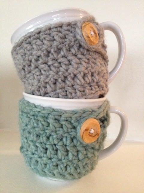Cozy mug warmer