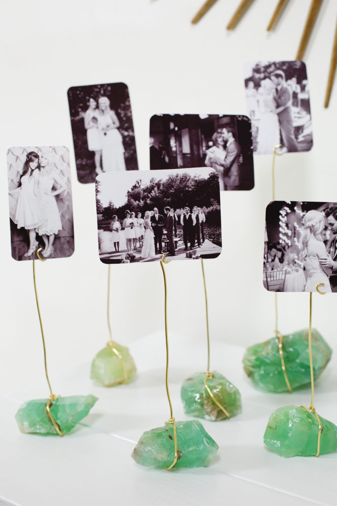 Crystal photo display
