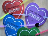 Cupids heart glowstick Valentines 200x150 Getting Ready for Valentines Day: 15 Cute Cupid Themed Crafts
