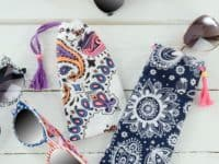 DIY Bandana Sunglasses Case 200x150 Style Statement: Safe and Chic DIY Glasses Case Ideas