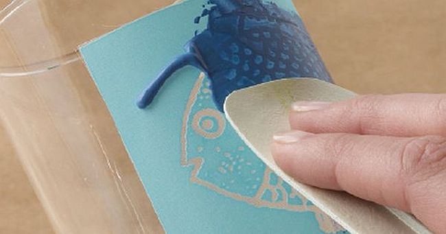 DIY Silk screened drinking glasses