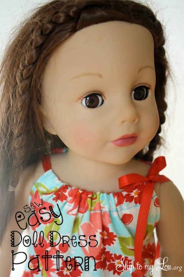 Easy doll dresses