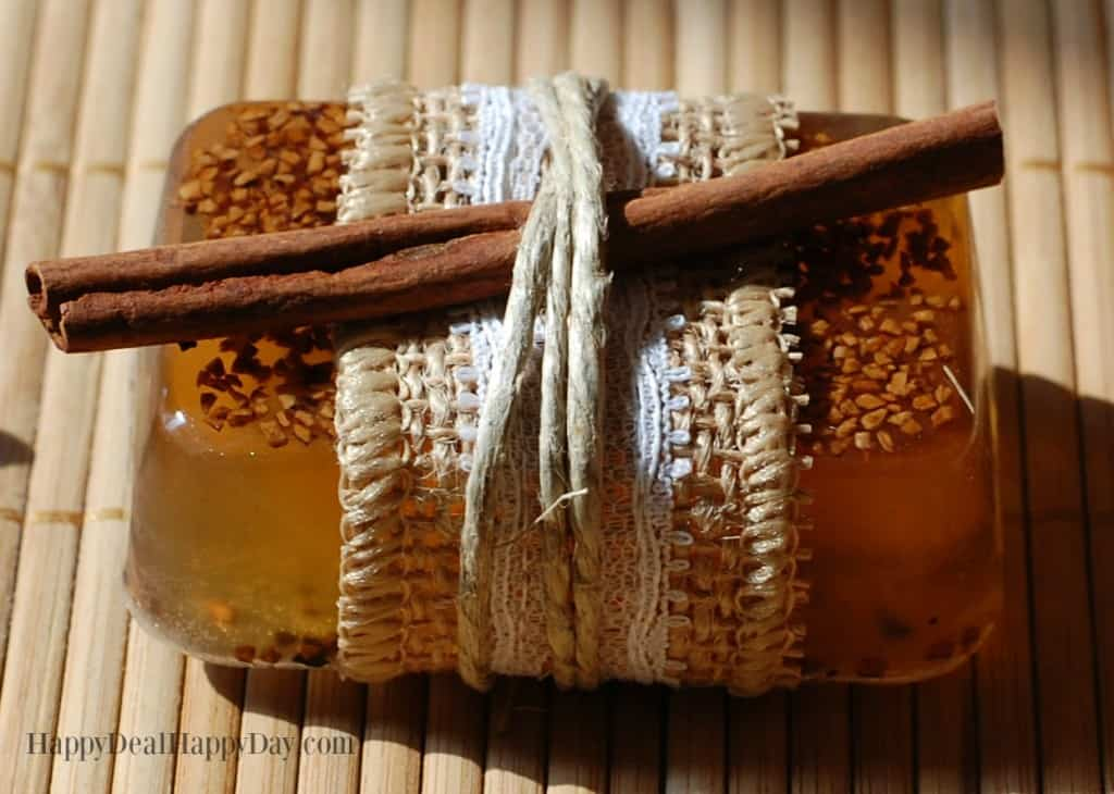 Fall scented soap