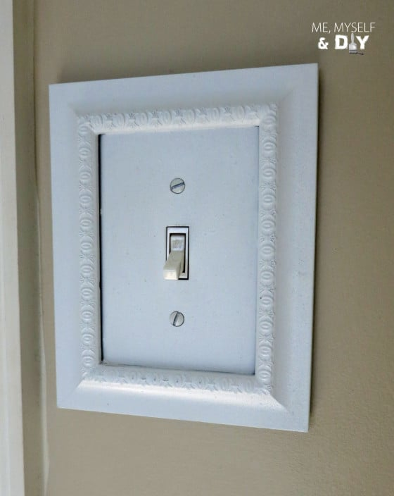View In Gallery Framed Light Switch Plate