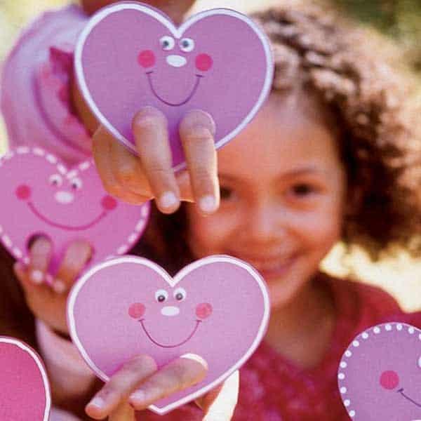 Haert puppet Valentines