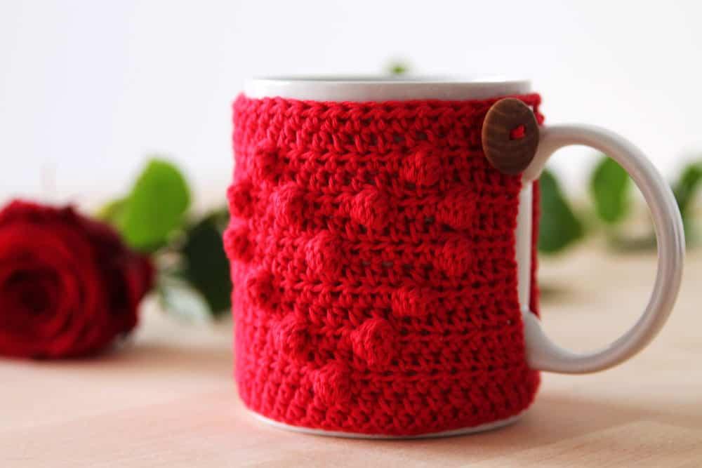 Heart mug warmer