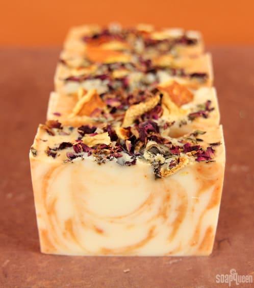 Juicy orange soap