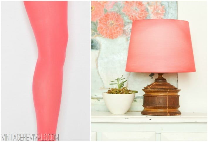 Leggings lampshade