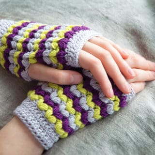 Powering Through Winter: DIY Fingerless Gloves