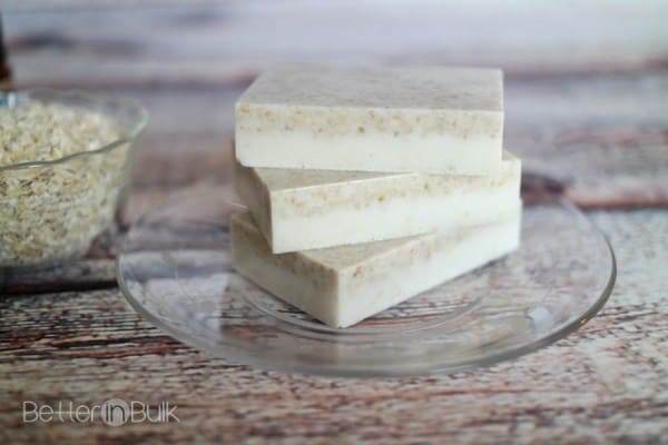 Oatmeal shea butter soap