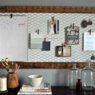 10 DIY Memo Boards for Your Home and Office