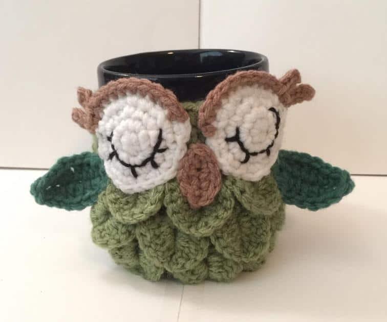 Owl mug warmer