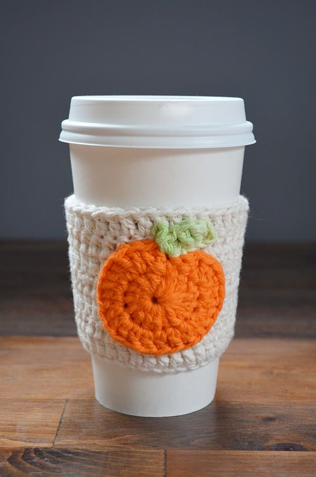 Pumpkin mug warmer