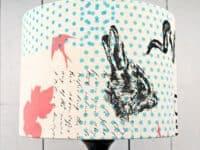 Silk screen lamp shade 200x150 Fun DIY Silk Screening Designs