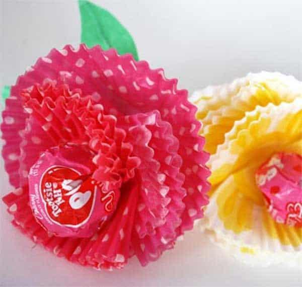 Tootsie pop roses