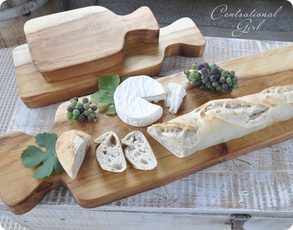 Wooden cutting board trio