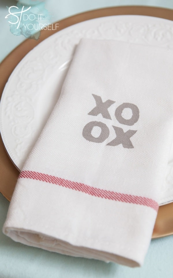 XO tea towels