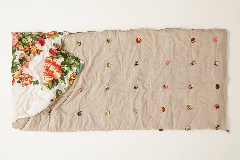 Anthropologie inspired sleeping bag