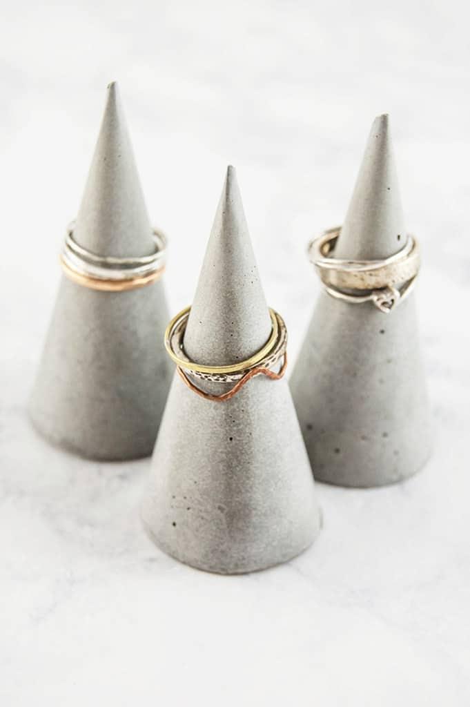 Concrete ring cones