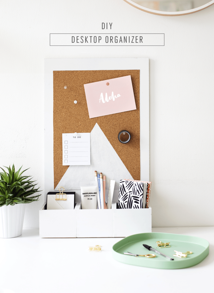 Organizing Your Workspace With Diy Desk Organizers