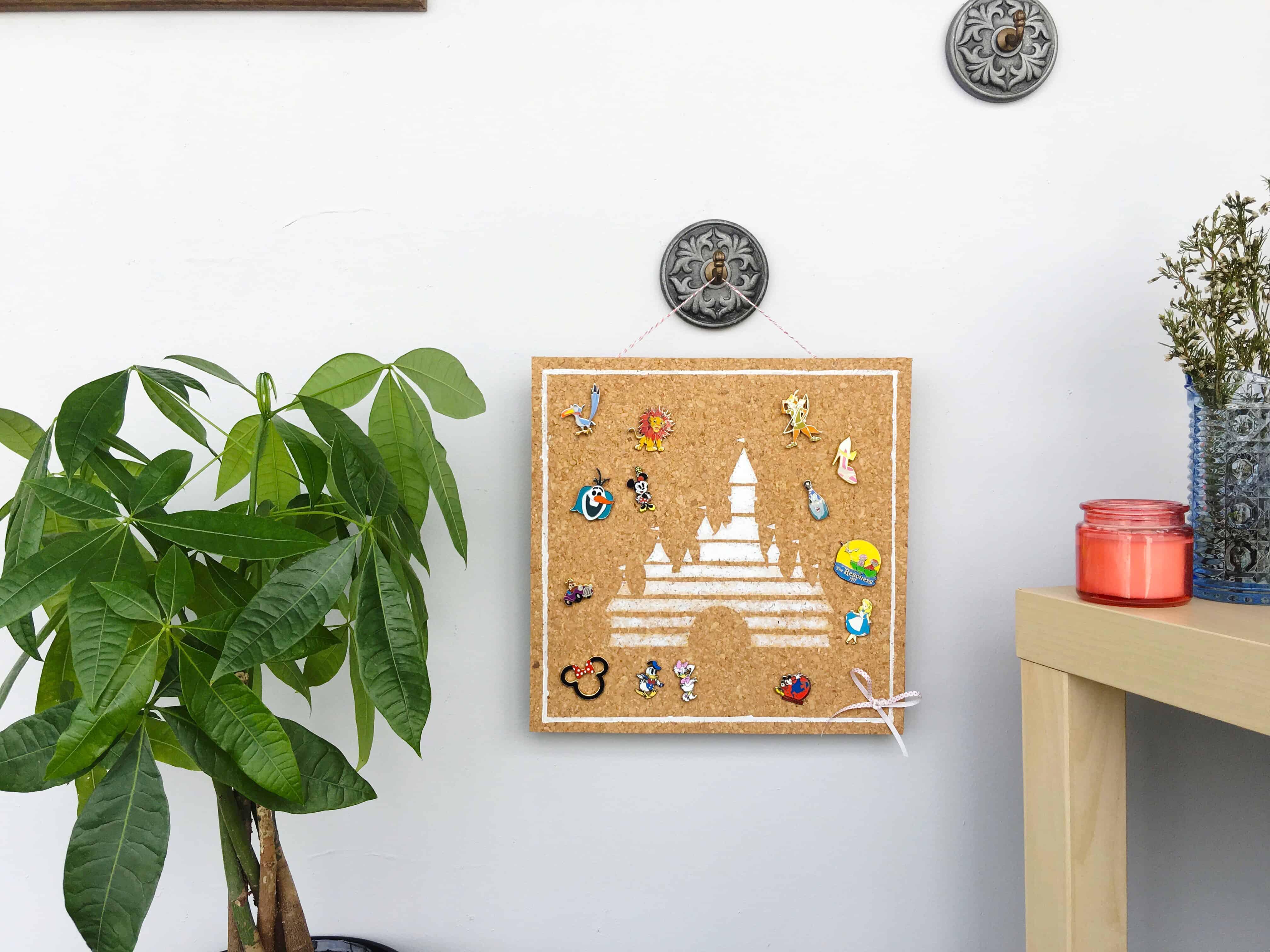 DIY Disney pin display board
