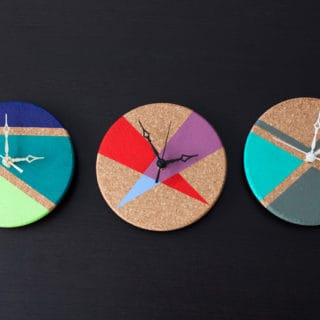 11 DIY Geometric Clocks You Can Make Even If You Failed Math