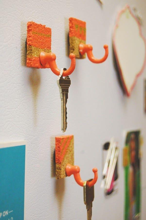 Magnet key holders