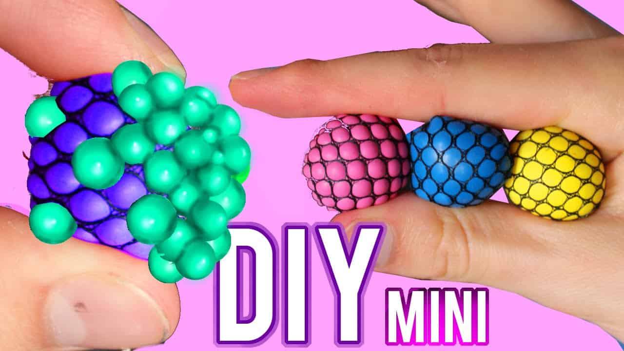 Mini mesh stress balls