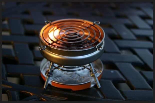 Mini mint BBQ tin