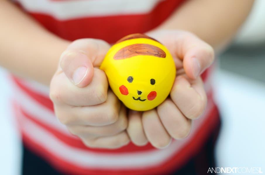 Pokemon stress ball