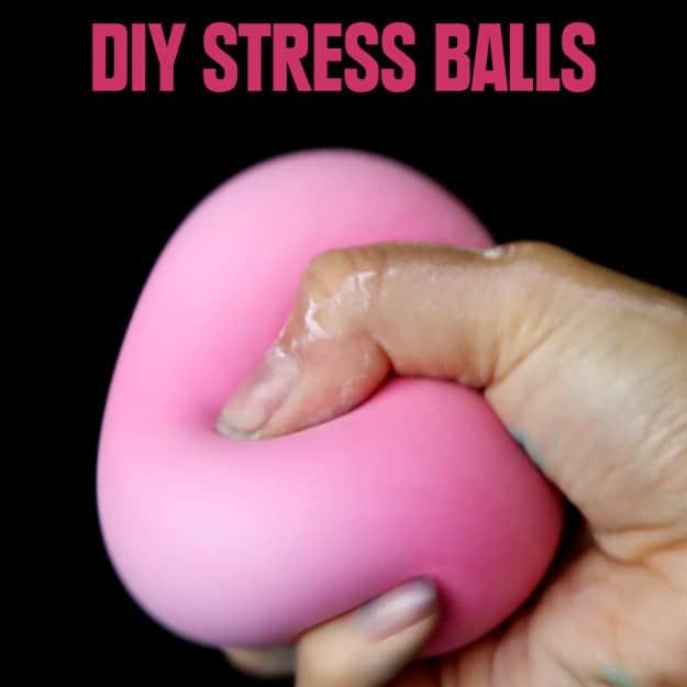 12 Diy Stress Balls Ideas How To Make A Homemade Stress Ball