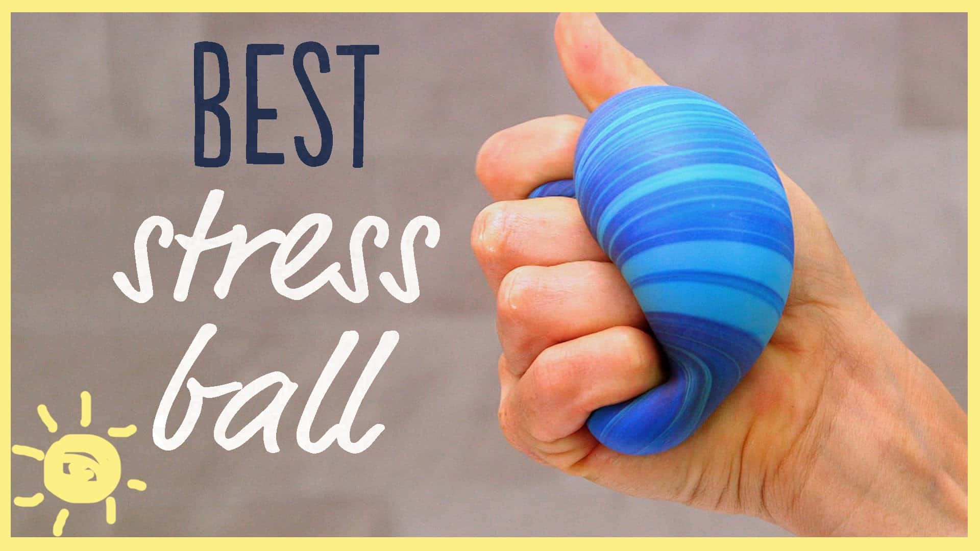 Two ingredient stress ball