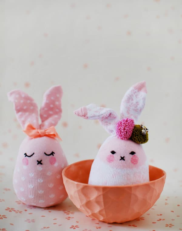 Adorable and soft easter bunnies