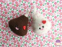 Amigurumi chocolate kisses 200x150 15 Adorable Crocheted Food Patterns That Will Make You Squeal!