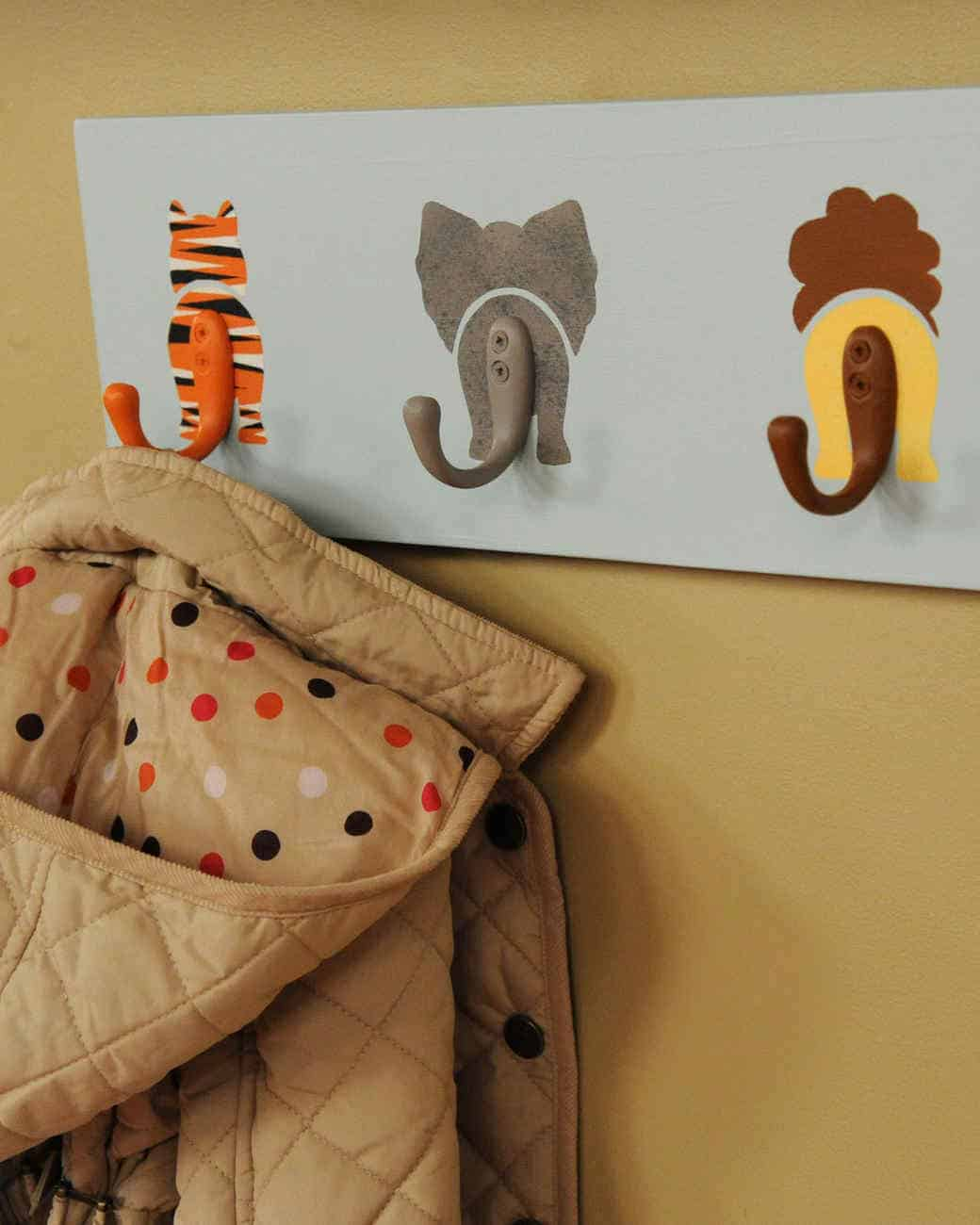 Animal coat racks