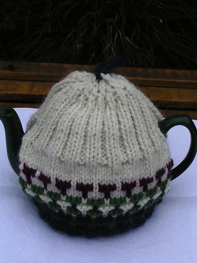 Antique tea cozy